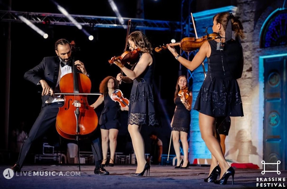 Allegro violin show