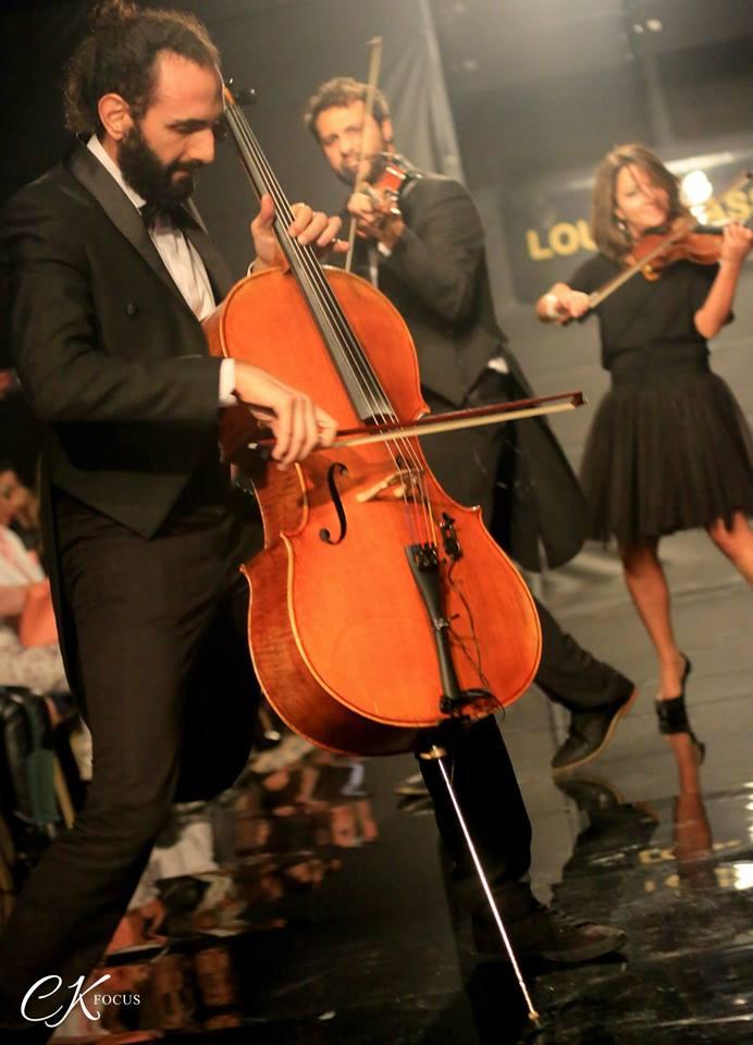 Allegro Violin show at the Podium