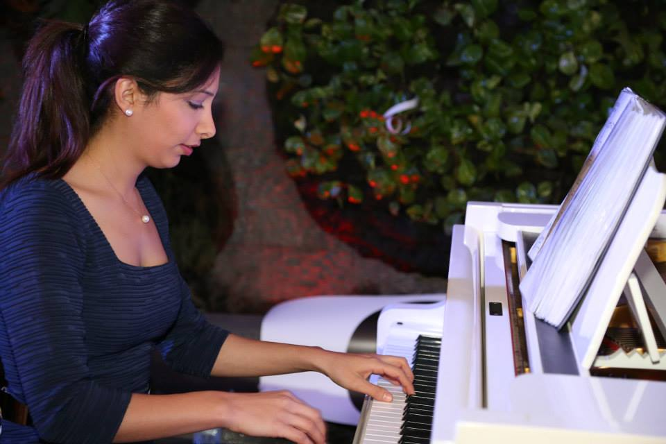 Guilnar Majdalani on the Piano