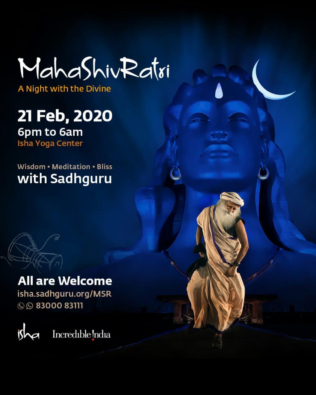 Mahashivaratri india event Flyer