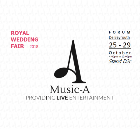 Music-A at 8th Edition of Royal Wedding Fair